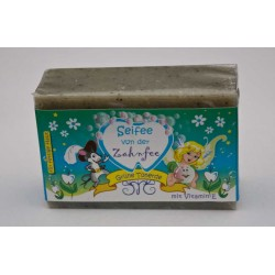 Tooth Fairy Soap with Green Clay