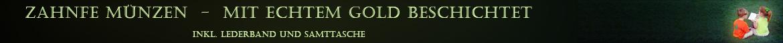 Zahnfee Münzen, mit echtem Gold beschichtet